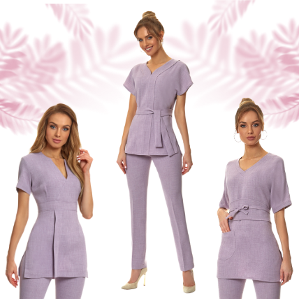 Get inspired with our Lilac Tunics and Trousers