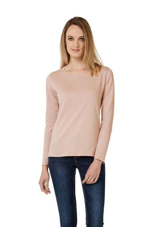 High round neck tshirt with long sleeves