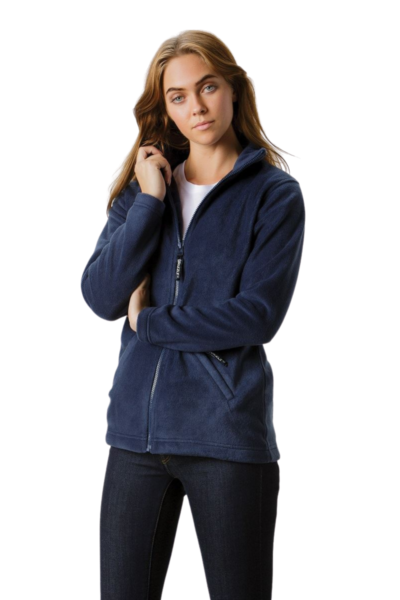 Grizzly® full zip active fleece