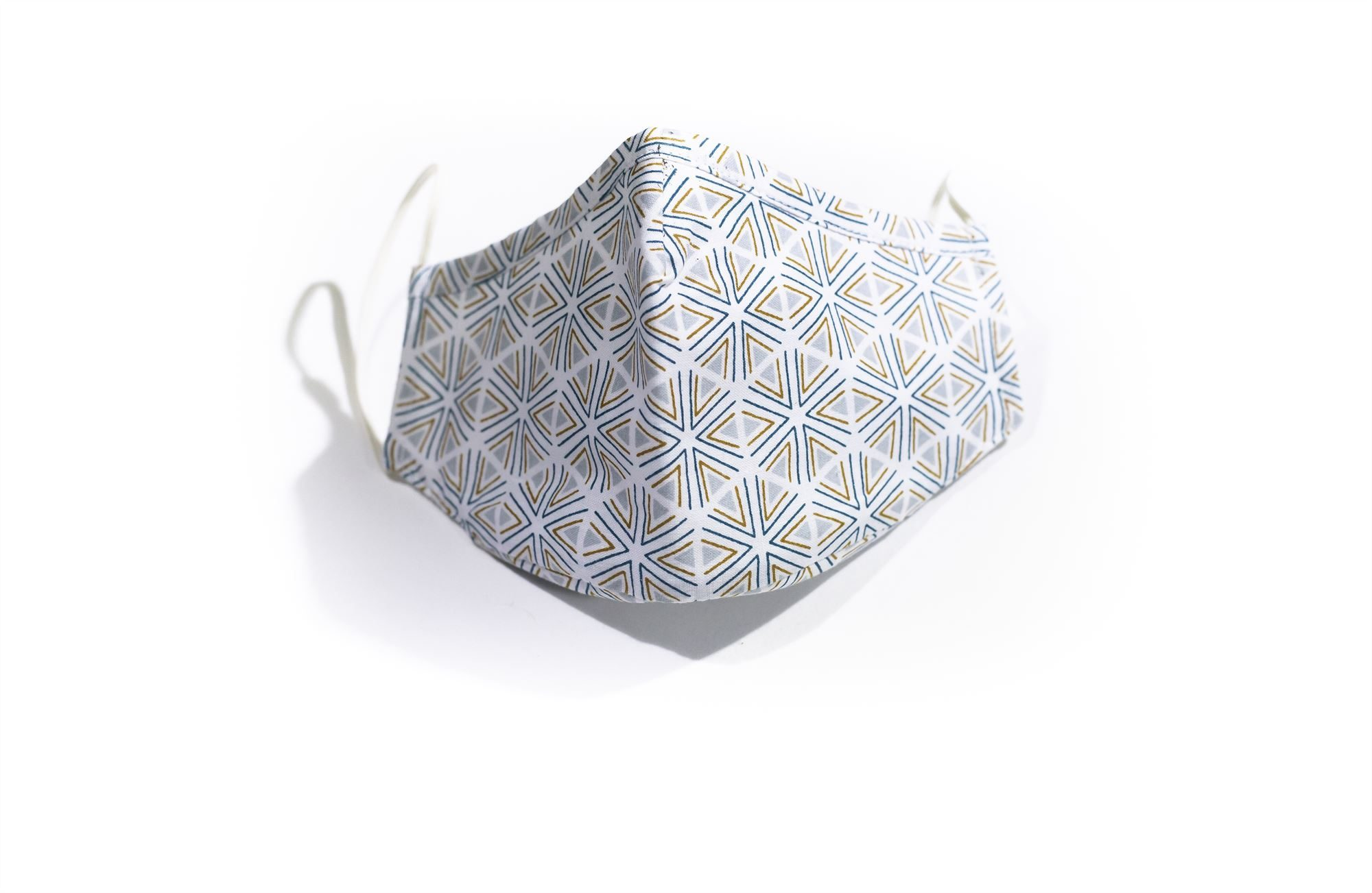 Hexagon Pattern Face Mask