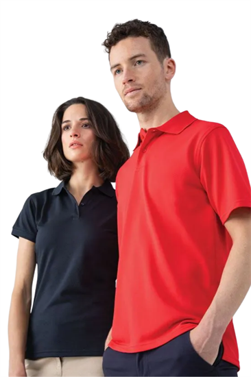 Henbury Unisex Coolplus® polo shirt