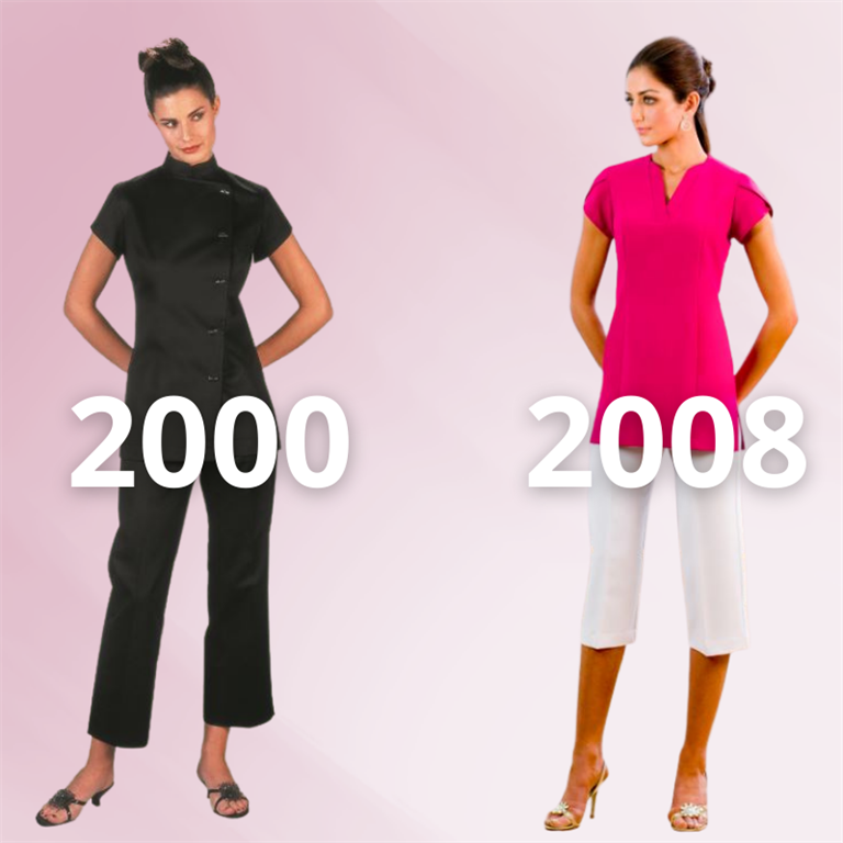 2000 and 2008 style Buttercups through the Noughties