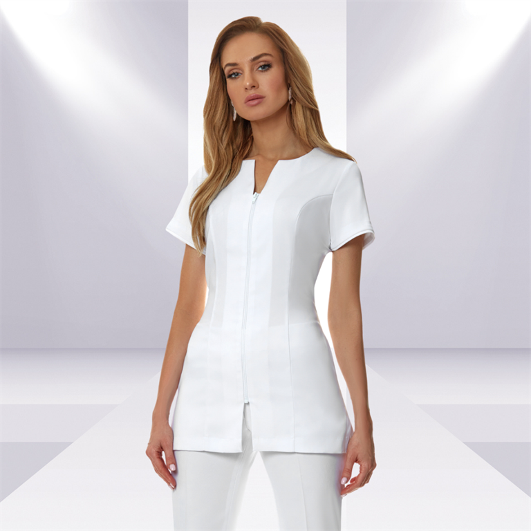Taking the beauty salon out of aesthetics: how to make a statement with your uniform