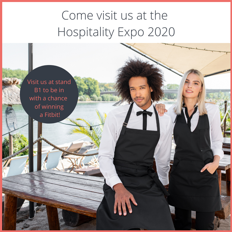 Come visit us at the Hospitality Expo 2020