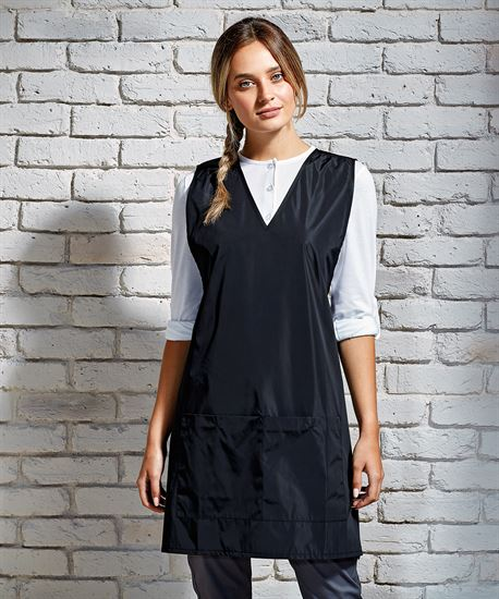 PR174 Waterproof Wrap Around Tie Back Tunic